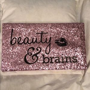 Beauty and Brains quote picture